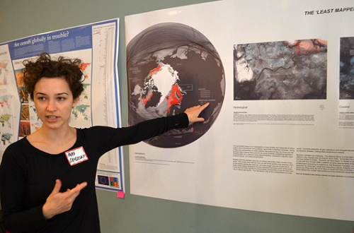 "Anya Domlesky (MLA '14)  presents ""The Least Mapped Place in the World: Urban Present and Projection in an Arctic Watershed."