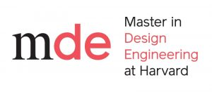 Master in Design Engineering at Harvard program logo