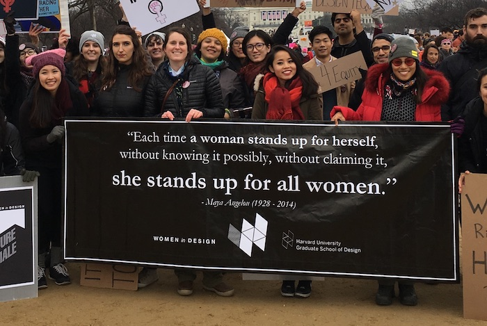 Women in Design March on Washington 2017